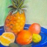 Stillleben mit Ananas