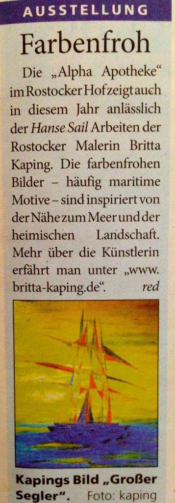 Warnow Kurier 07.08.2013