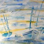 Sommerbrise, 50 x 60 Aquarell auf Papier