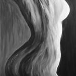 Akt, 40 x 50 Acryl auf Leinwand