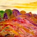 Herbst, 30 x 40 Acryl auf Leinwand