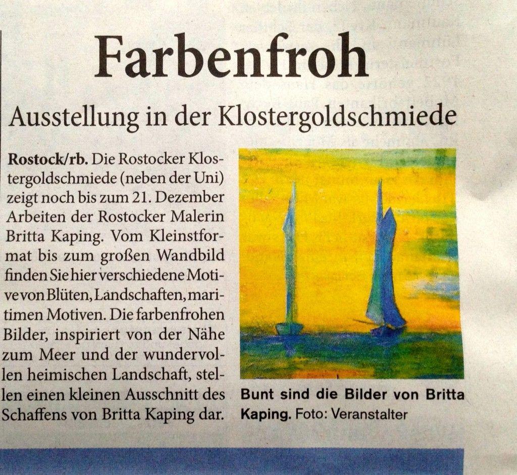 Rostocker Blitz 08.12.2013