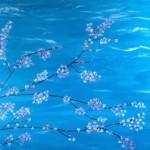 Springtime, 100 x 100 Acryl auf Leinwand