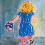 Alexandra, Acryl auf Leinwand, 24 x 30
